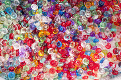 Colorfull glass balls mixed in the background Royalty Free Stock Photos