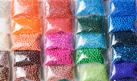 Colorfull glass beads Stock Image
