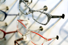 Colorfull glasses Royalty Free Stock Images