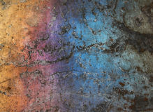 Colorfull grunge metal background Royalty Free Stock Photos