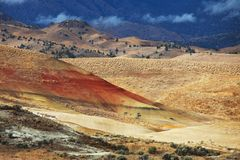 Colorfull hills Stock Photography