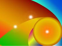 Colorfull Hintergrund Stock Abbildung