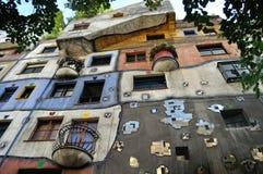 Colorfull hus arkivbilder
