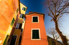 Colorfull italian houses Royalty Free Stock Images