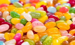 Colorfull Jelly Bean Background Stock Photography