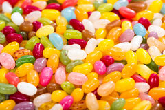 Colorfull Jelly Bean Background Stock Image