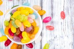 Colorfull Jelly Beans Arkivbilder