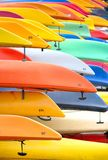 Colorfull kayaks Stock Photo