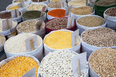 Colorfull legumes Royalty Free Stock Photography