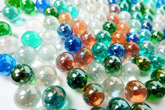Colorfull-Marmorball-Kunsttapete Lizenzfreies Stockfoto