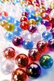 Colorfull-Marmorball-Kunsttapete Stockbilder