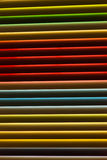 Colorfull-Metalljalousien Lizenzfreie Stockfotografie