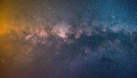 Colorfull milkyway backround stock foto