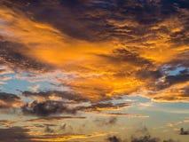 Colorfull morgonhimmel Royaltyfri Bild