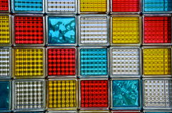 Colorfull mosaic. Made from glassy squares Stock Photography