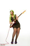 Colorfull musician Royalty Free Stock Images