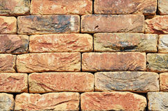 Colorfull Old, Vintage Luxury Ceramic Clinker Brick Textured Wall. Background Royalty Free Stock Photography