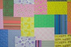 Colorfull pappersmotiv arkivbild