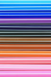 Colorfull of pens Stock Image
