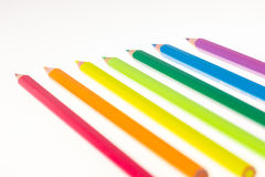 Colorfull pens Royalty Free Stock Photo