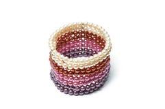 Colorfull peroliza o bracelete Imagens de Stock