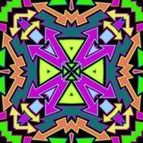 Colorfull-Pfeil-abstraktes Muster lizenzfreie abbildung