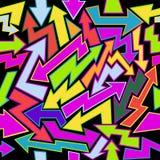 Colorfull-Pfeil-nahtloser Hintergrund lizenzfreie abbildung