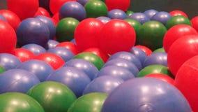 Colorfull piłki Zdjęcia Stock