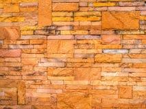 Colorfull piaska blick ściana Fotografia Stock
