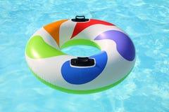 colorfull pierścionku pływanie Zdjęcia Royalty Free