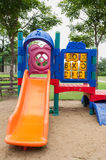 Colorfull playground in park Stock Photography
