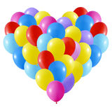 Colorfull Realistic Heart Stock Images