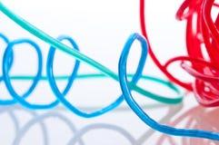 Colorfull Seilzüge Stockfotografie