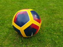 Colorfull soccer ball Royalty Free Stock Photos
