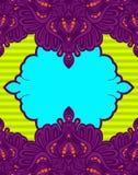 Colorfull-Spitze-Aufkleberhintergrund Stockfotos