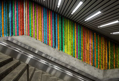 Colorfull stairway Royalty Free Stock Image