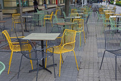 Colorfull stolar Arkivfoto