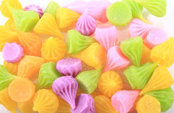 Colorfull of thai snack Stock Photography