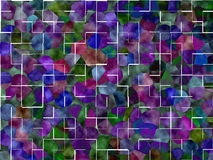 Colorfull tiles Background Royalty Free Stock Images
