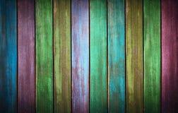 Colorfull tvättade wood textur gammala paneler för bakgrund Fotografering för Bildbyråer