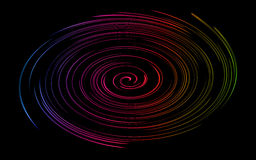 Colorfull twirl abstract background. Stock Photos