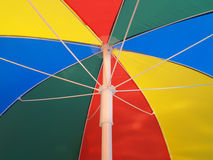 Colorfull Umbrella. Red, Yellow, green and Blue color umbrella Royalty Free Stock Photos