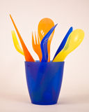 Colorfull utensils Royalty Free Stock Photo