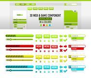 Colorfull website element tools. Something like Colorfull website element tools Royalty Free Stock Photography