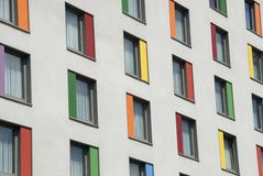 Colorfull windows Royalty Free Stock Photo