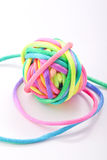 Colorfull  yarn Royalty Free Stock Photography