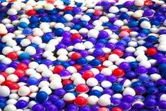 Colorfullbal op pool Royalty-vrije Stock Foto