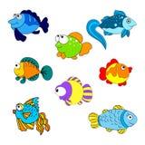 Colorfullvissen Stock Afbeelding
