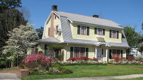 Colorfully modific il terrenoare a casa Fotografia Stock Libera da Diritti