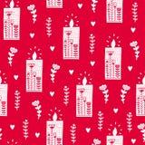 Colorfuly Weihnachts-seamles Beschaffenheit Stockbilder